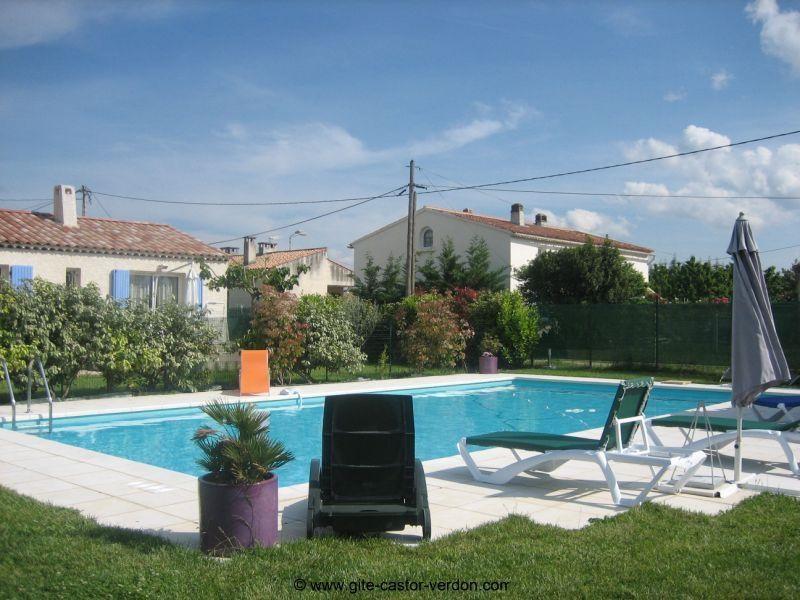 Appartement pour 6 pers. avec piscine, Artignosc-sur-Verdon