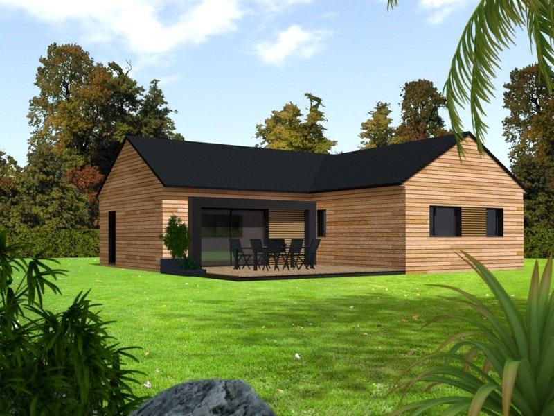 Maison  6 pièces + Terrain 707 m² Saint Pol de Léon par PRIMOBOIS BREST