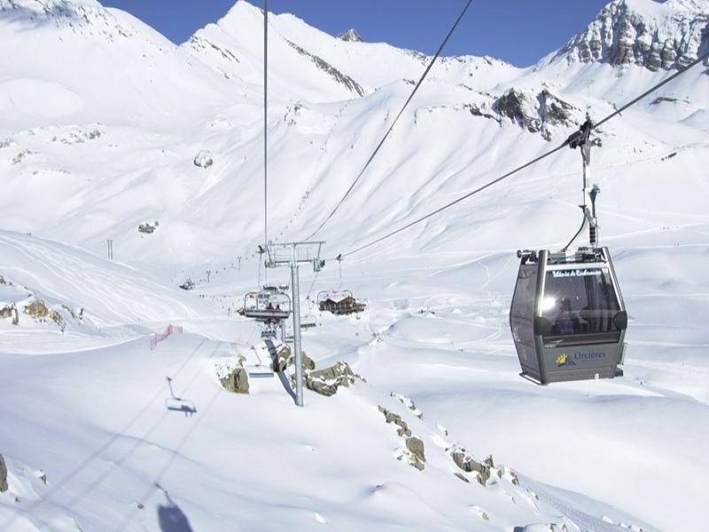 Maxi studio en dupex 4 pers. Balcons du soleil à Orcières Merlette - Alpes du Sud