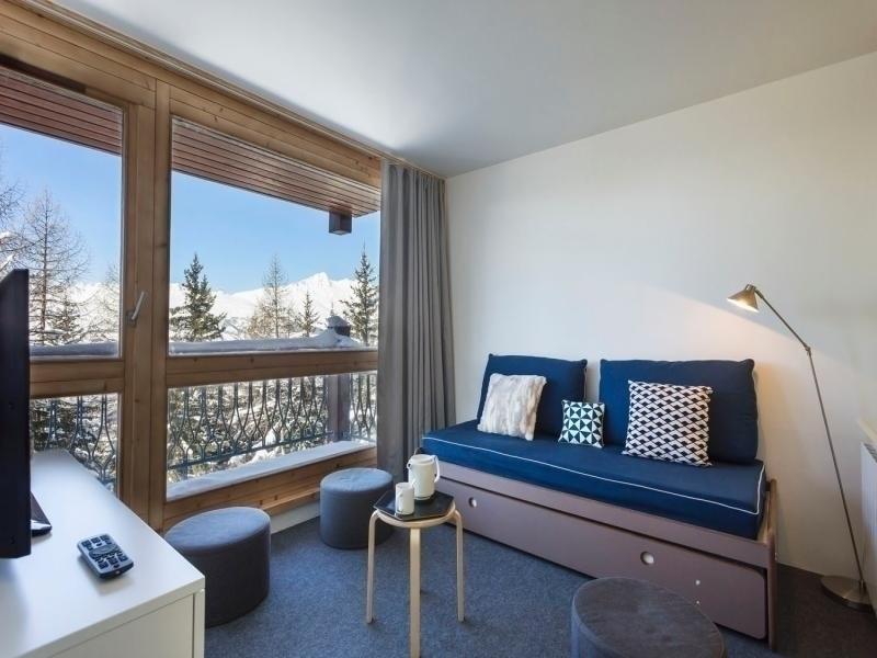 Appartement rénové dans résidence calme proche pistes et commerces