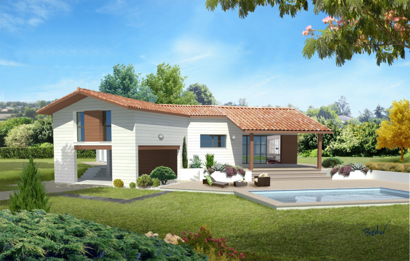 Maison  5 pièces + Terrain 600 m² Salles-sur-l'Hers par GARONA VILLA