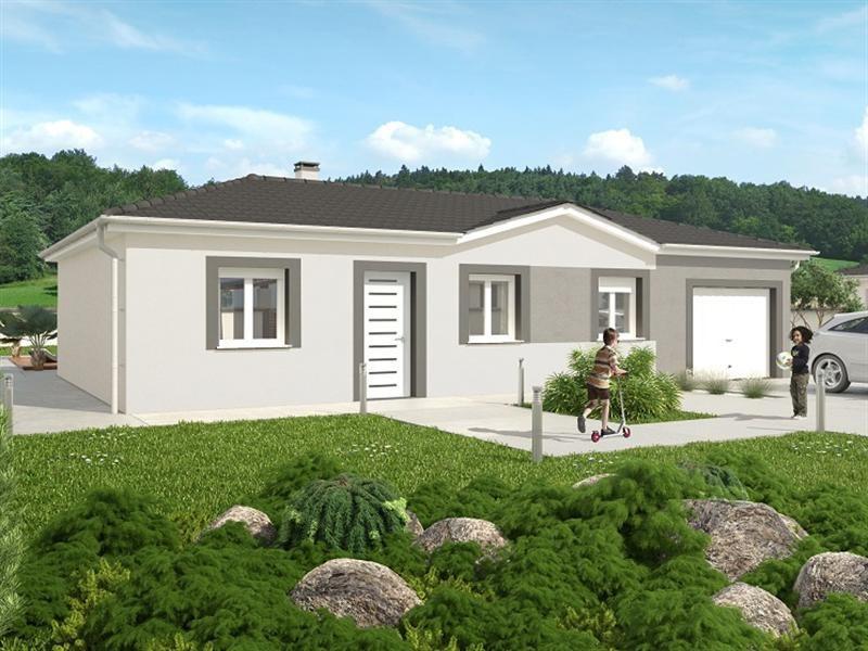 Mod le de maison partir de 4pi ces par les toits de province for Modele maison ganova