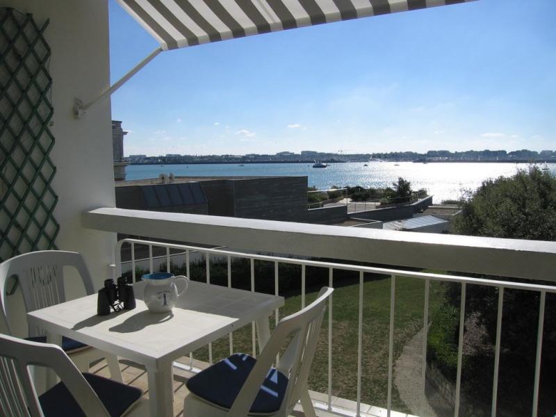 le balcon vue sur le Port de plaisance