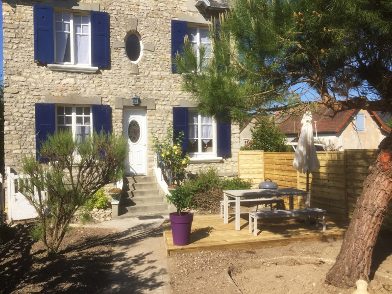 Location vacances Port-en-Bessin-Huppain -  Maison - 4 personnes - Barbecue - Photo N° 1