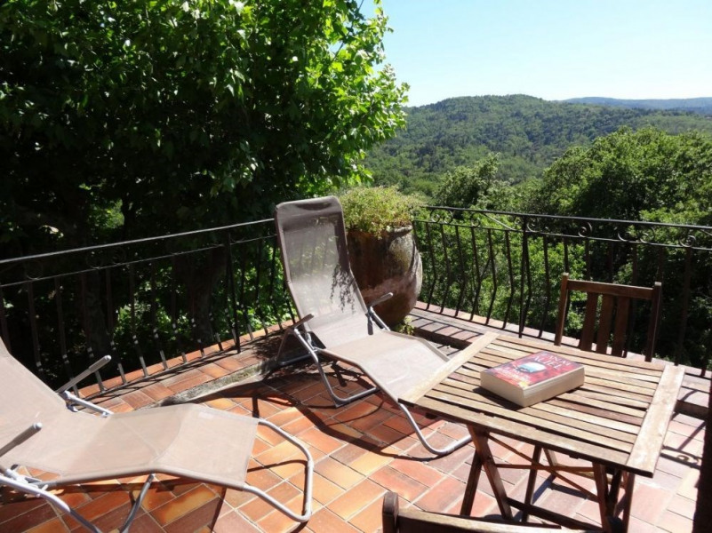 Location vacances La Garde-Freinet -  Gite - 5 personnes - Barbecue - Photo N° 1