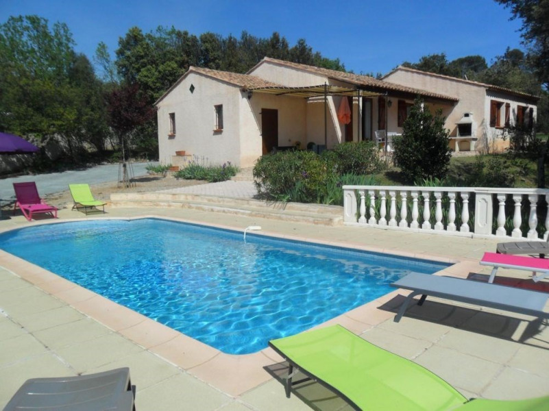 Location vacances Vidauban -  Gite - 8 personnes - Barbecue - Photo N° 1