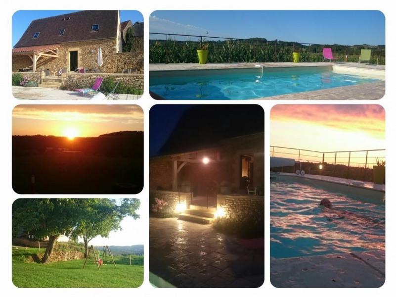 pour 7 pers. avec piscine privée, Saint-Crépin-et-Carlucet