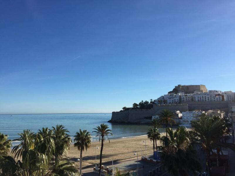 Appartements en 1ère ligne de plage, avec vue mer et château