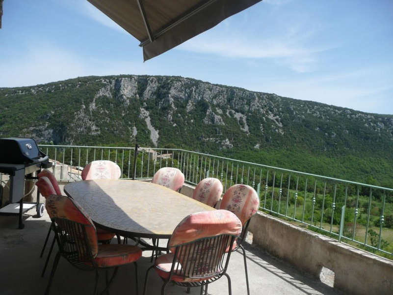 Holiday rentals Saint-Laurent-le-Minier - House - 8 persons - BBQ - Photo N° 1