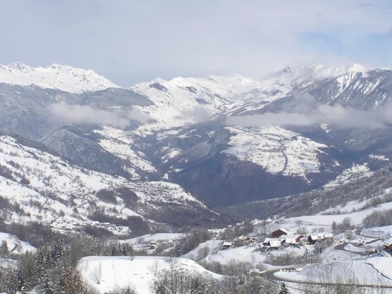 Appartement duplex aux pieds des pistes à Valmorel, station en Savoie