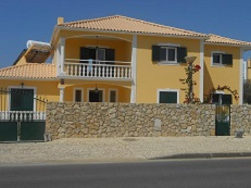 Facade de la villa