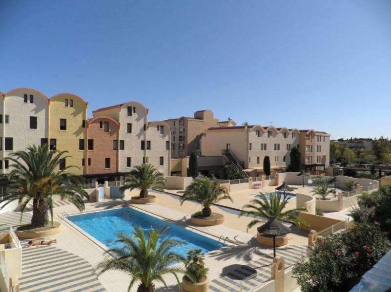 Gruissan (11) - Secteur port - Résidence les Dromadaires - Appartement 3 pièces de 32 m² environ pour 5 à 6 personnes...