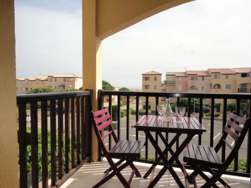 Saint Pierre la Mer (11) - Quartier de la Vigie - Résidence les Terrasses de la Méditerranée. Appartement 2 pièces ca...