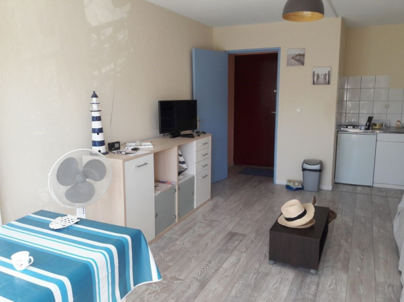 Appartement T2, 4 couchages, parking, Les Balcons de la Méditerranée, Narbonne Plage