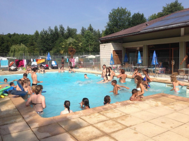 Camping Saumont, 50 emplacements, 18 locatifs