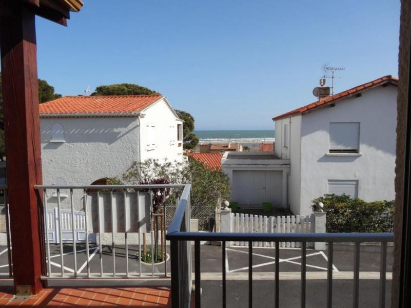 Saint Pierre la Mer (11) - Quartier du centre de la station - Résidence Eolia. Appartement 2 pièces cabine mezzanine ...