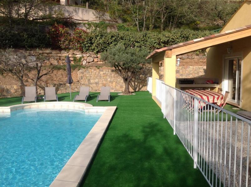 Location vacances Bauduen -  Appartement - 8 personnes - Jardin - Photo N° 1