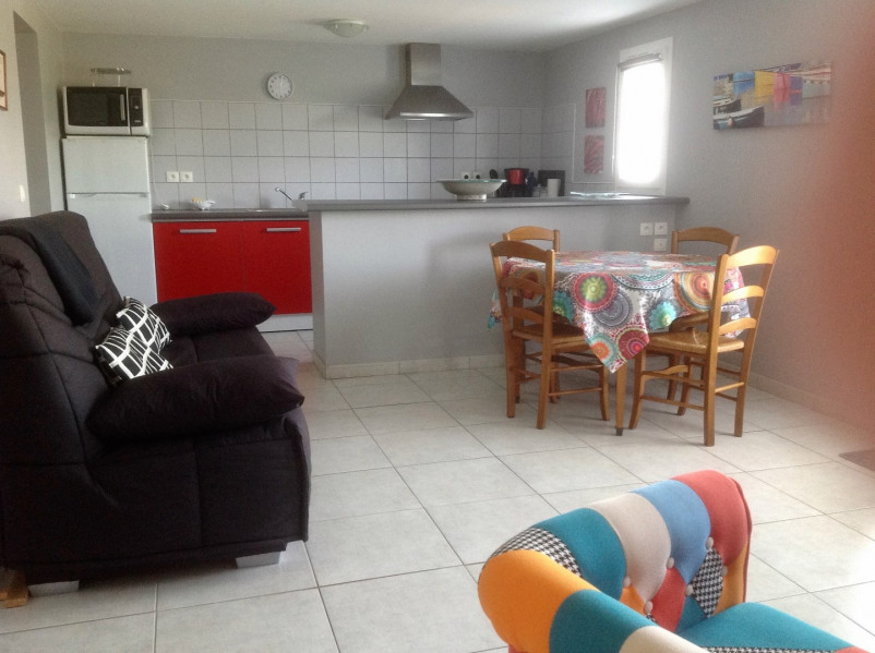 Location vacances Ascain -  Appartement - 2 personnes - Salon de jardin - Photo N° 1