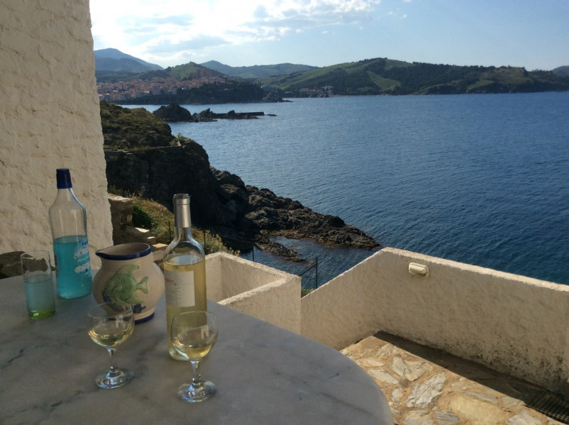 Location vacances Banyuls-sur-Mer -  Appartement - 6 personnes - Barbecue - Photo N° 1