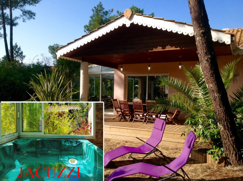 villa de charme, grand jardin, Jacuzzi