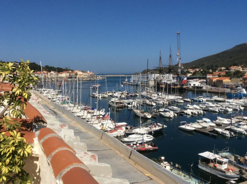 Holiday rentals Port-Vendres - Apartment - 6 persons - Television - Photo N° 1