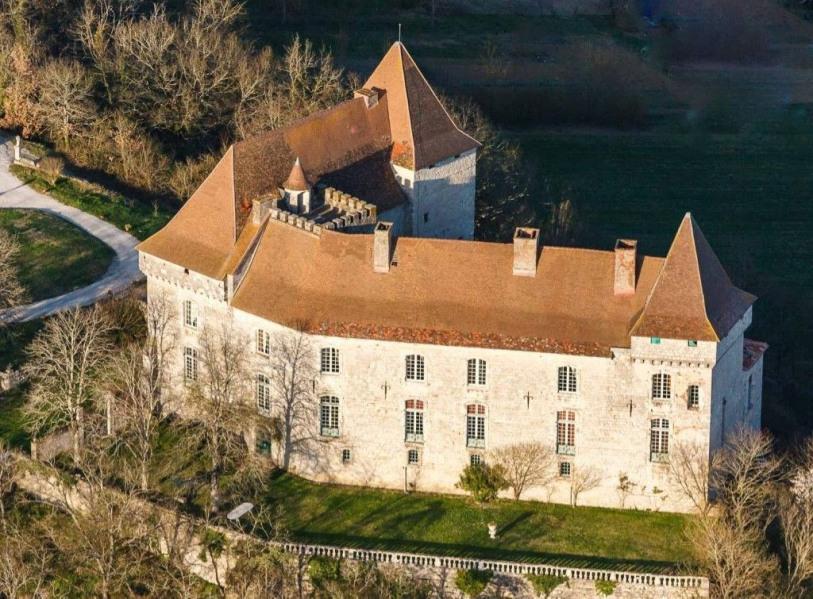 Vaste château Médieval et du XVIII siècle proche Toulouse - Moissac avec piscine