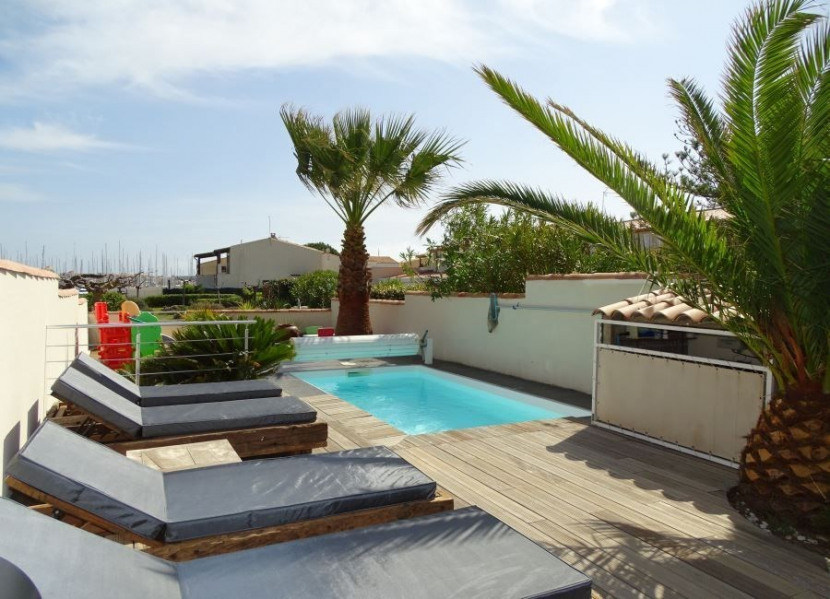 Cap d'Agde - Marina 9 personnes piscine parking privés