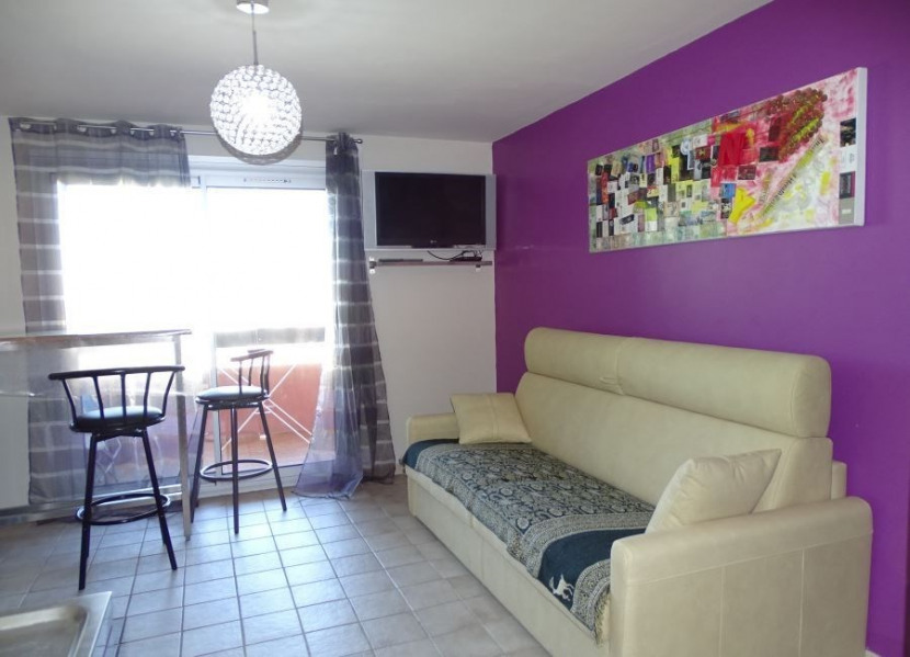 Location vacances Agde -  Appartement - 2 personnes - Court de tennis - Photo N° 1