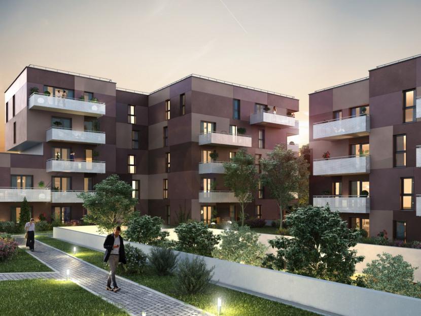 Villa Barberousse Haguenau Programme Immobilier Neuf Groupe Stradim