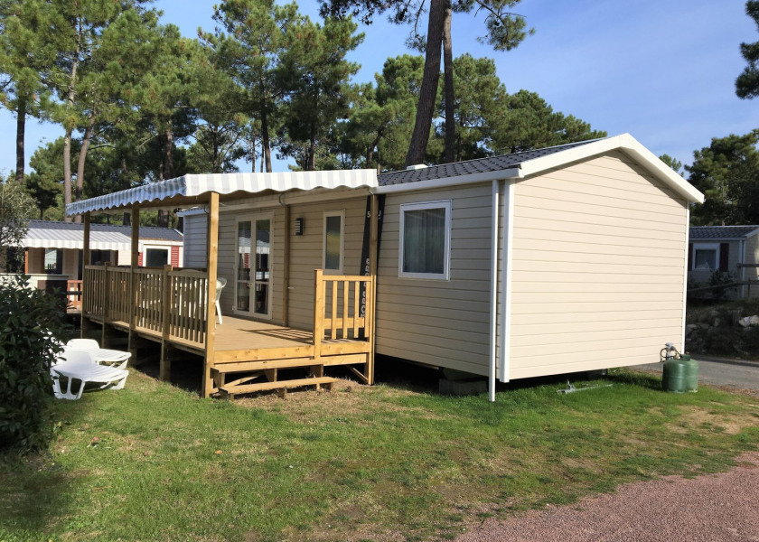Mobil-home 6/8 personnes, neuf, gamme excellence, camping Siblu ****