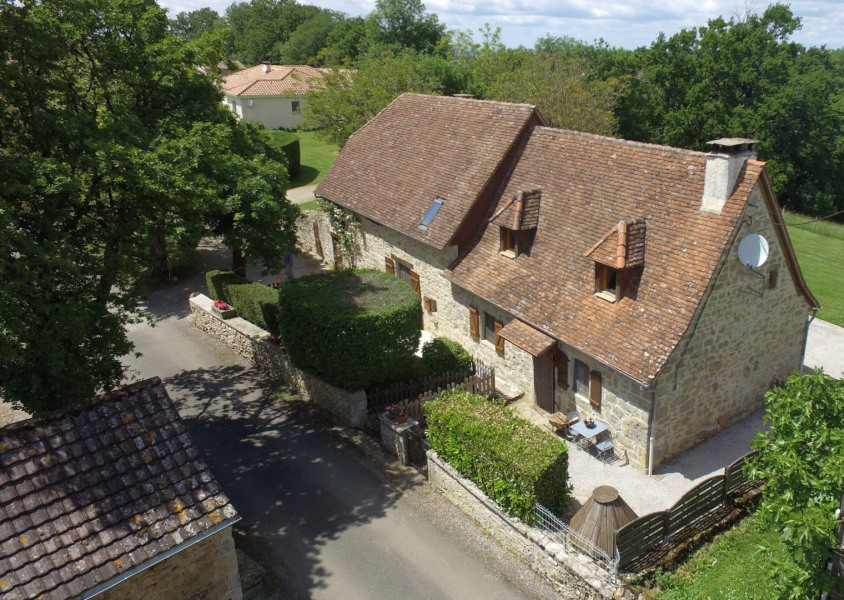 Holiday rentals Alvignac - Cottage - 5 persons - BBQ - Photo N° 1