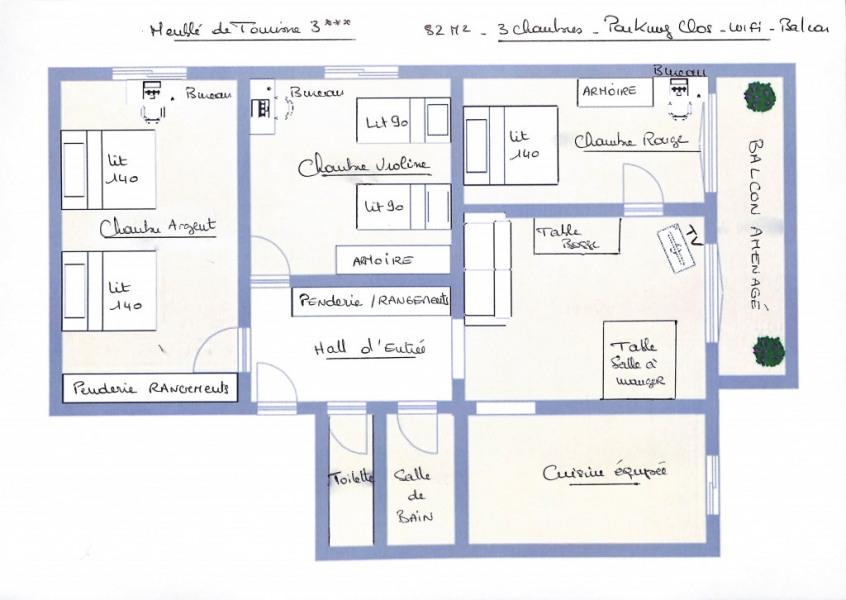 Plan Appartement.