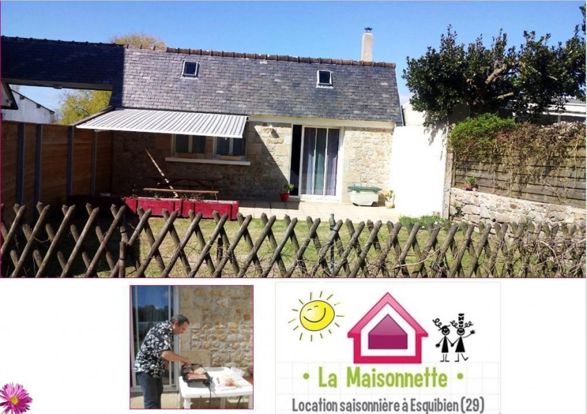 Location vacances Audierne -  Maison - 4 personnes - Barbecue - Photo N° 1
