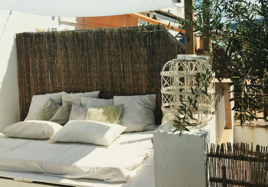 Chillout sur la terrasse