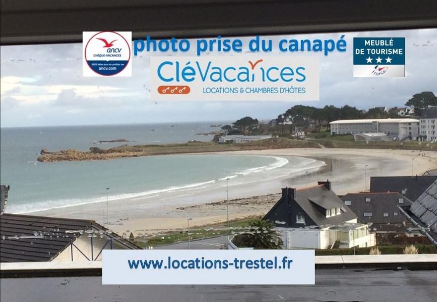 Location vacances Trévou-Tréguignec -  Appartement - 2 personnes - Barbecue - Photo N° 1