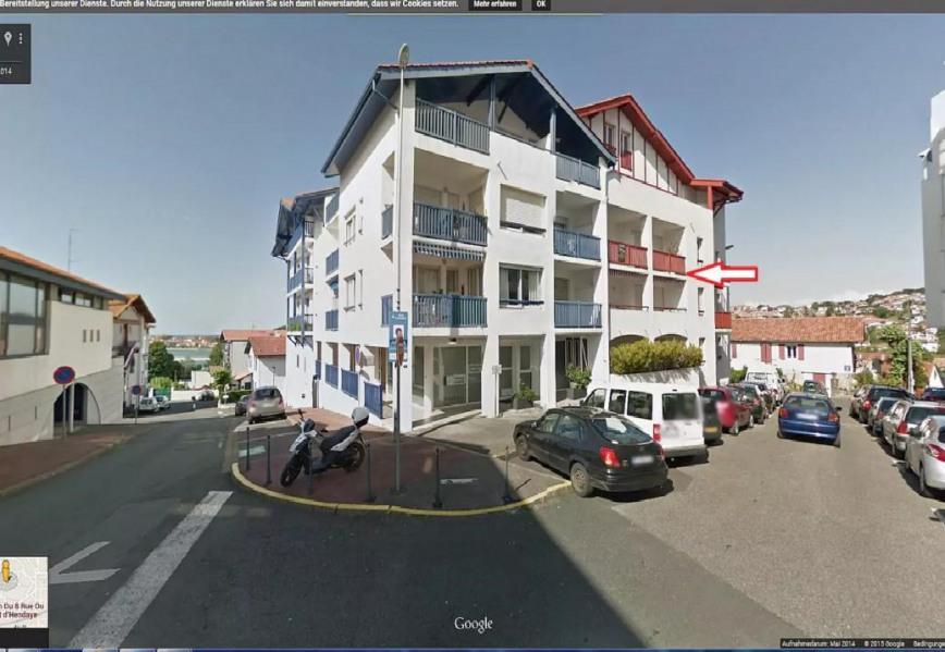 location vacances appartement hendaye centre ville 2 min baie de txingundi