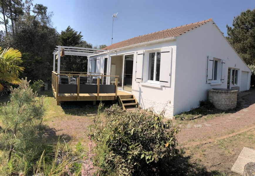 Holiday rentals Jard-sur-Mer - House - 7 persons - BBQ - Photo N° 1