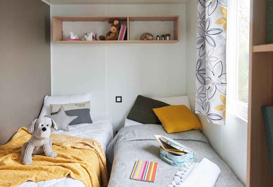 Mobil Home XXL 4 chambres Camping Lac de Miel