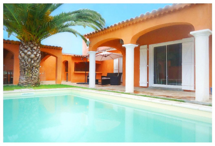 Holiday rentals Sainte-Maxime - House - 8 persons - BBQ - Photo N° 1