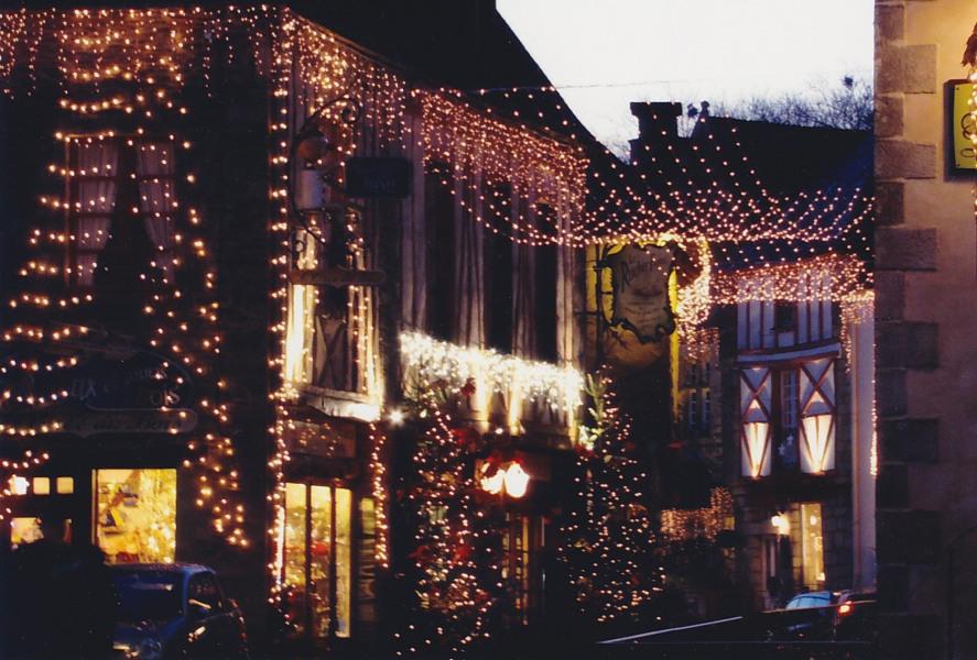 Illuminations en décembre