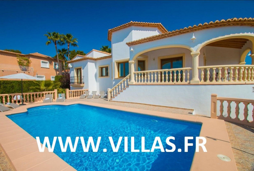 Location vacances Calp -  Maison - 14 personnes - Barbecue - Photo N° 1