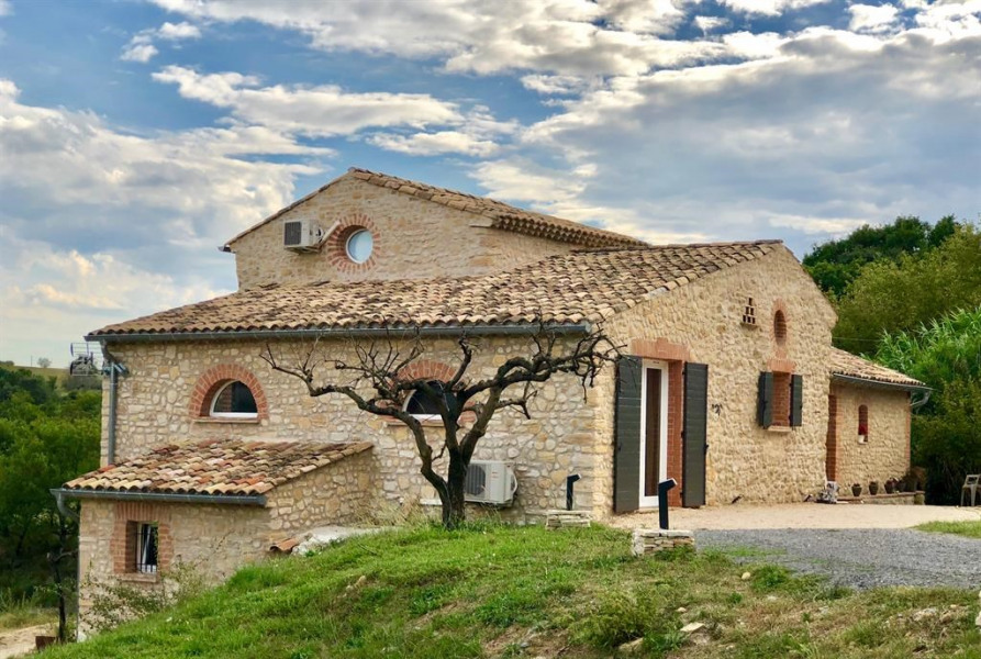 Holiday rentals Les Mages - House - 6 persons - BBQ - Photo N° 1
