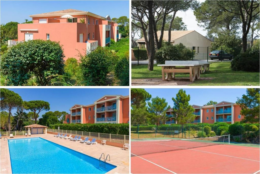 Holiday rentals Saint-Raphaël - Apartment - 7 persons - Tennis court - Photo N° 1