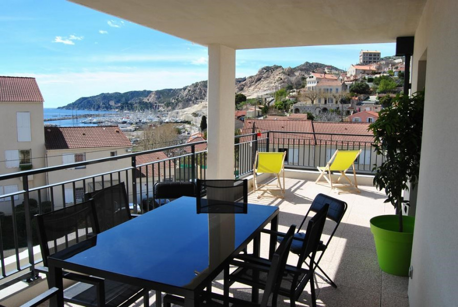 Location vacances Marseille -  Appartement - 4 personnes - Barbecue - Photo N° 1