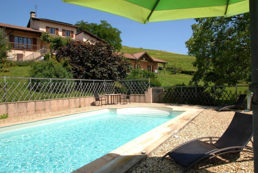Location vacances Pruzilly -  Gite - 8 personnes - Barbecue - Photo N° 1