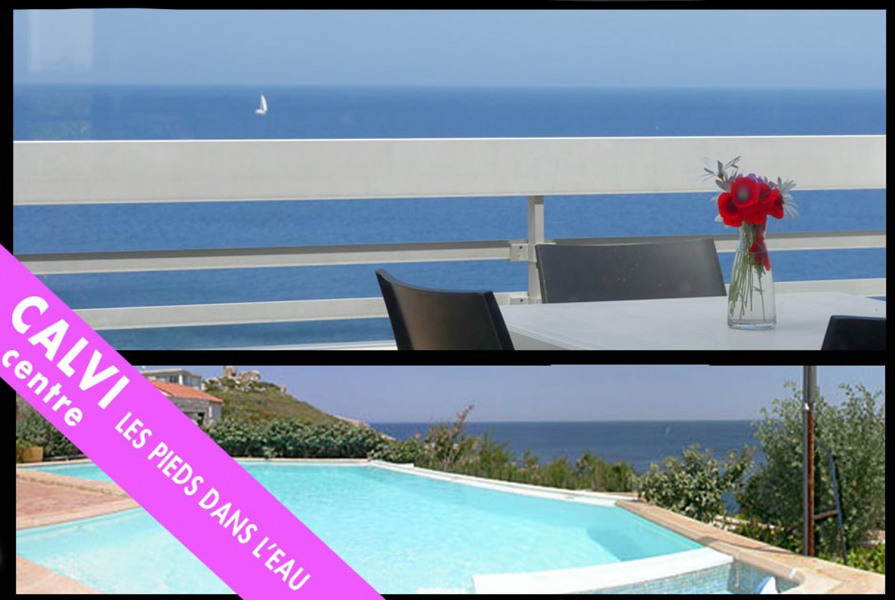 Location vacances Calvi -  Appartement - 4 personnes - Chaise longue - Photo N° 1