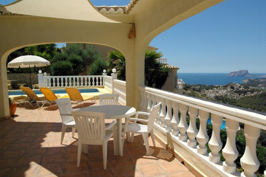 Casa KALI, für 6 Personen -      mit traumhaftem Blick auf das Meer, die Berge und Täler