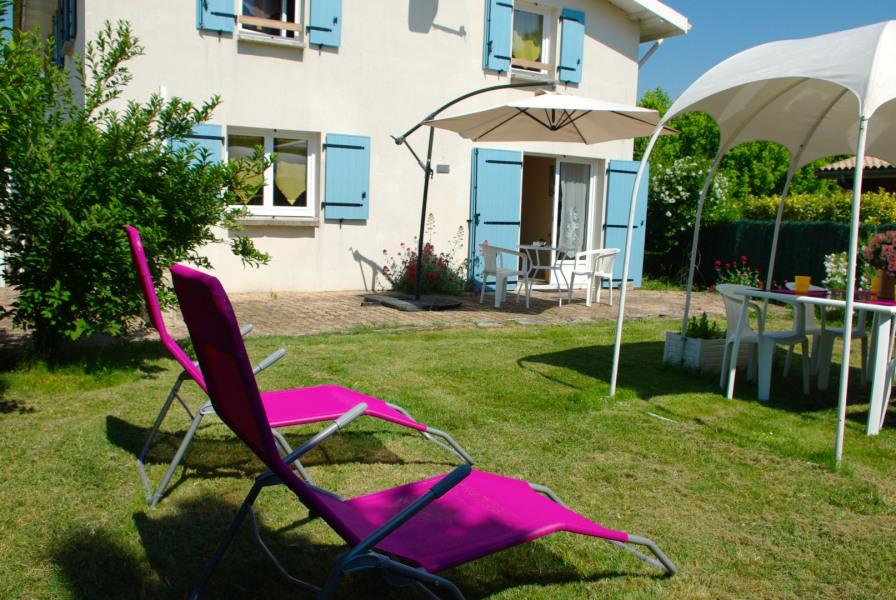 La terrasse et le jardin privatif