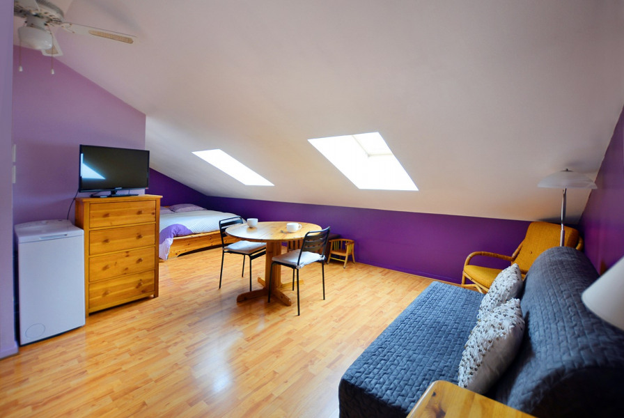 Suite GONES - L'espace salon