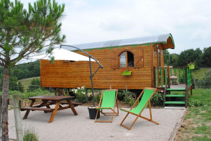 Location vacances Lamothe-Capdeville -  Insolite - 2 personnes - Barbecue - Photo N° 1